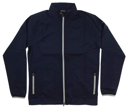 New Mens Puma Zephyr Jacket Medium M Peacoat MSRP $80 577902 02