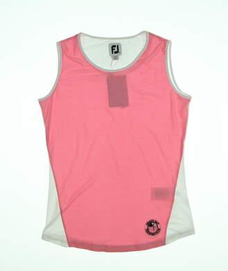 New W/ Logo Womens Footjoy Space Dye Tank X-Large XL Pink MSRP $72 27453