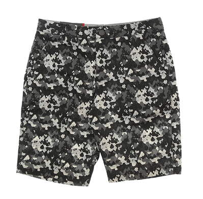 New Mens Puma Dassler Camo Golf Shorts Size 32 Puma Black MSRP $80 576136 01