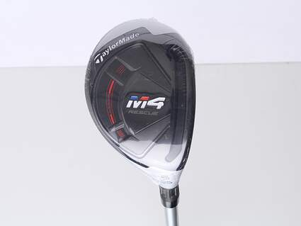 Mint TaylorMade M4 Hybrid 5 Hybrid 25* TM Tuned 45 IR Graphite Ladies Right Handed 38.75 in