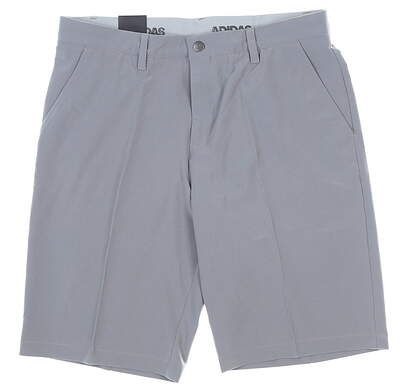 Brand New 10.0 Mens Adidas Ultimate 365 Shorts 33 Gray CE0447
