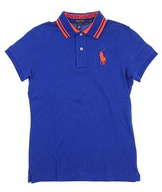 New Womens Ralph Lauren Golf Polo Small S Blue MRSP $90