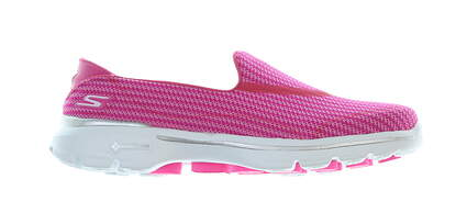 New Womens Golf Shoe Skechers GoWalk 3 7 Hot Pink MSRP $65