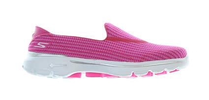 New Womens Golf Shoe Skechers GoWalk 3 6.5 Hot Pink MSRP $65