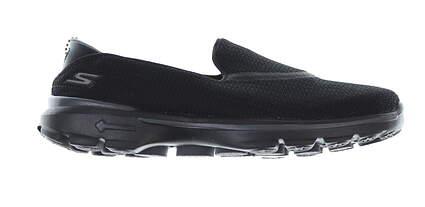 New Womens Golf Shoe Skechers GoWalk 3 7.5 Black MSRP $65