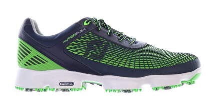 New Mens Golf Shoe Footjoy Hyperflex Medium 11 Blue/Green MSRP $200
