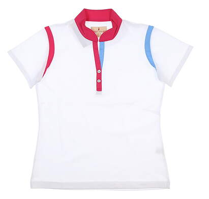 New Womens Sport Haley Golf Polo Small S Multi H37302TM MSRP $80