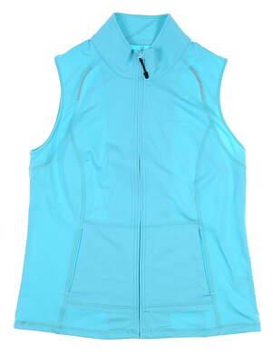 New Womens Sport Haley Leah Vest Medium M Blue H37105VM MSRP $89.99