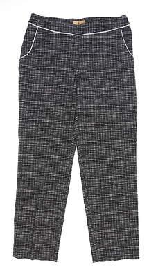 New Womens Sport Haley Golf Pants 10 Black MSRP $85