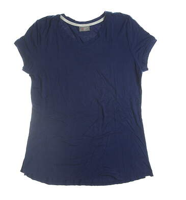 New Womens Jo Fit Golf T-Shirt X-Small XS Navy Blue MSRP $68