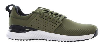 New Mens Golf Shoe Adidas Adicross Bounce Medium 11 Green/Black/White MSRP $120