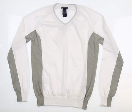 New Womens Birdy & Grace Sweater Large L White B113 MSRP $90