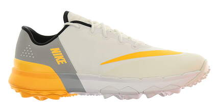 New Womens Golf Shoe Nike FI Flex 7 White/Orange MSRP $100