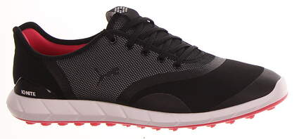 New Womens Golf Shoe Puma IGNITE Statement Low Medium 9 Black/White MSRP $100