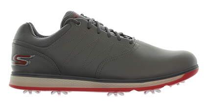 New Mens Golf Shoe Skechers Go Golf Elite V.3 9 Charcoal/Red MSRP $100