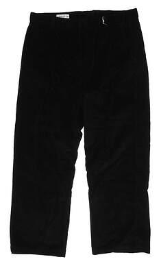 New Mens Cutter & Buck Corduroy Pants 38 x30 Black MCB01673
