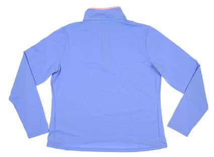 New Womens Ralph Lauren Golf Pullover X-Large XL Blue MSRP $128