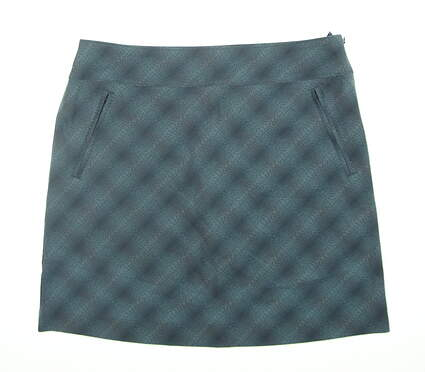 New Womens Cutter & Buck Annika Skort 10 Blue MSRP $74.99