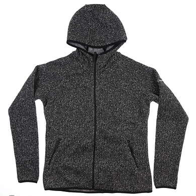 New Womens Columbia Chillin Fleece Jacket Large L Black/Grey/White EL1019-010 MSRP $89.99