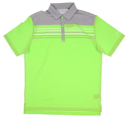 New Mens Columbia Golf Polo Large L Green