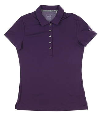 New Womens Puma Pounce Polo Small S Indigo 574652 16 MSRP $50