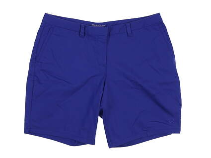 New Womens Nike Golf Shorts 10 Blue MSRP $69
