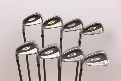 Titleist DCI 822 Oversize Iron Set 3-PW Stock Graphite Shaft Graphite Regular Left Handed 38 in