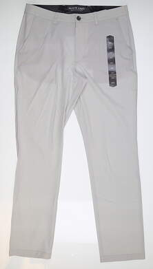 New Mens MATTE GREY Pants 34 Light Grey MSRP $94.99