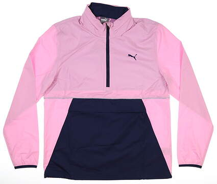 New Mens Puma Wind Jacket Medium M Pink MSRP $90