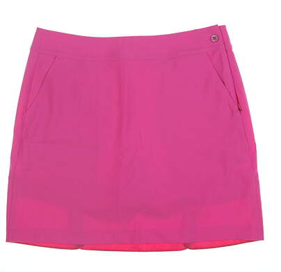 New Womens EP NY Microtwill Petal Skort 10 Pink 1140NAD MSRP $92