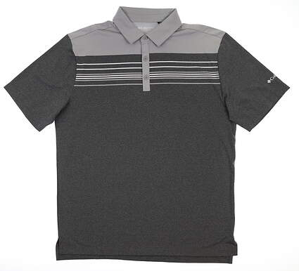 Brand New 10.0 Mens Columbia Polo Large L Gray