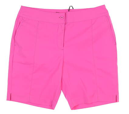 New Womens EP Pro Golf Shorts 8 Pink NS8000 MSRP $95