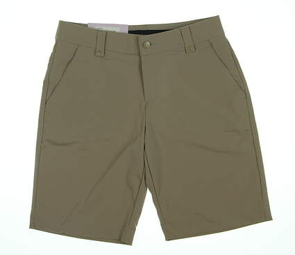 New Womens Under Armour Shorts 4 Khaki/Tan MSRP $61.99