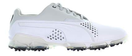 New Mens Golf Shoe Puma Titantour 9.5 White/Grey MSRP $200