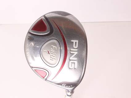 Ping Faith Fairway Wood 5 Wood 5W 22* Ping ULT 200 Ladies Graphite Ladies Right Handed 41.5 in