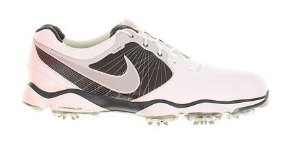 New Mens Golf Shoe Nike Lunar Control II Medium 9 White/Black MSRP $200