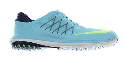 New Mens Golf Shoe Nike Lunar Control Vapor 10 Vivid Sky Blue MSRP $175