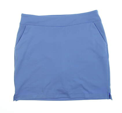 New Womens Greg Norman Golf Skort Large L Blue G2S8H491 MSRP $69