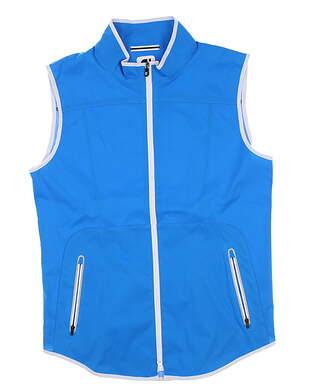 New Womens Footjoy Golf Vest Medium M Blue 24972 MSRP $85