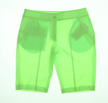 New Womens EP Pro Shorts 6 Lime Green 5108SHA MSRP $85