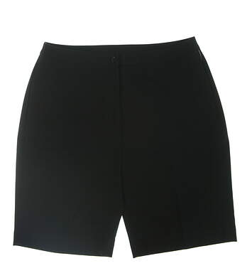 New Womens EP Pro Golf Shorts 8 Black 1D4912NS MSRP $70