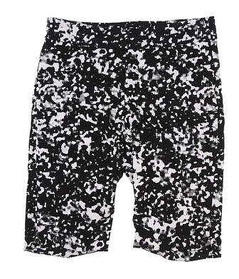 New Womens EP Pro 22 inch Abstract Skin Print Shorts Medium M Black/White 8220NBB MSRP $87.99