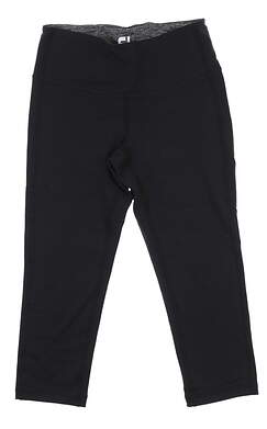 New Womens Footjoy Capri Leggings X-Small XS Black 27202 MSRP $70