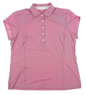 New Womens Zero Restriction Golf Polo X-Large XL Red MSRP $95