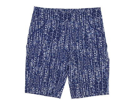 New Womens EP Pro 20in Multi Text Print Compression Shorts Medium M Navy Blue/White Multi 9331NCCX MSRP $84.99