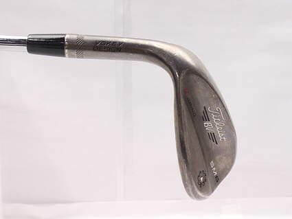 Titleist Vokey SM6 Steel Grey Wedge Lob LW 60* 12 Deg Bounce K Grind SM6 BV Steel Wedge Flex Left Handed 35 in