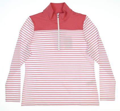 New Womens Footjoy 1/4 Zip Pullover Large L Multi 27568