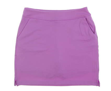 New Womens Greg Norman Golf Skort Small S Purple MSRP $80