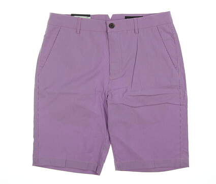 New Mens Dunning Golf Shorts 32 Pink/ Blue MSRP $75