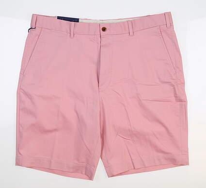 New Mens Ralph Lauren Classic Fit Golf Shorts 36 Pink MSRP $75